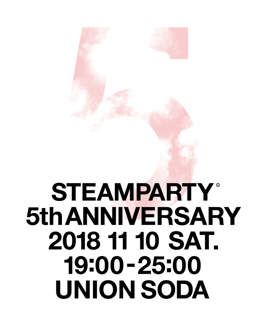 STEAM PARTY~5th anniversary~