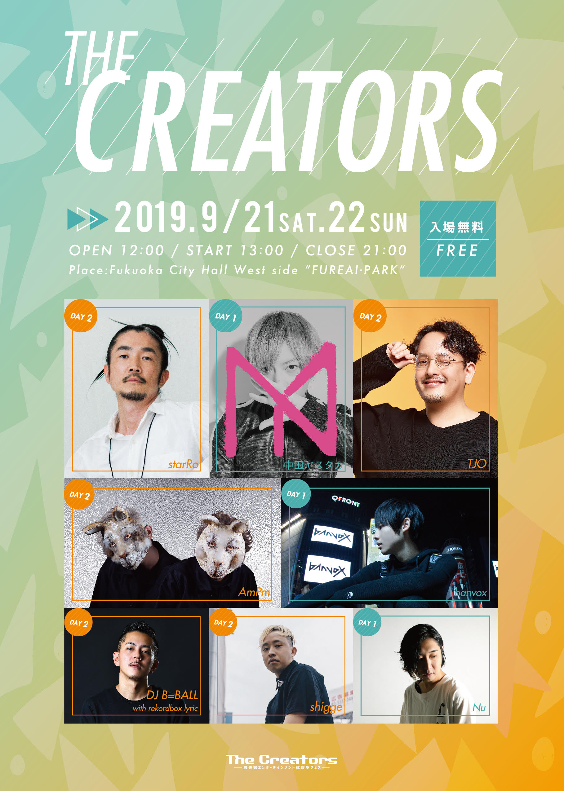 The Creators 2019